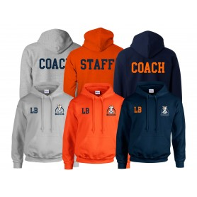 Grangemouth Broncos - Broncos Printed and Embroidered Coach or Staff Hoodie