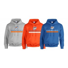 Grangemouth Colts - Colts Text Logo 1 Hoodie