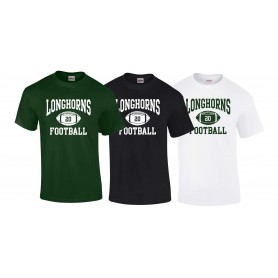 Leicester Longhorns - Custom Ball Logo 1 T-Shirt