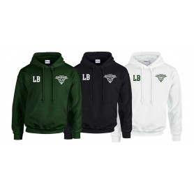 Leicester Longhorns - Embroidered Initials Hoodie