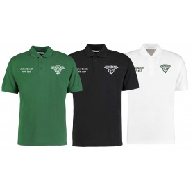 Leicester Longhorns - Customised Embroidered Polo Shirt