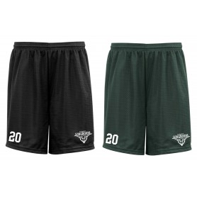 Leicester Longhorns - Embroidered Mesh Shorts