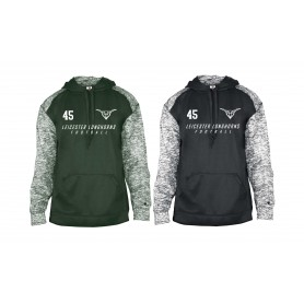 Leicester Longhorns - Printed Sports Blend Hoodie