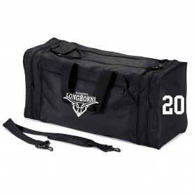 Leicester Longhorns - Custom Embroidered & Printed Kit Bag