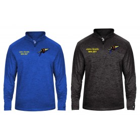 Spijkenisse Scouts - Customised Embroidered Tonal Blend Sport 1/4 Zip
