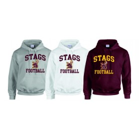 Southampton Stags - Stags Football Logo Hoodie