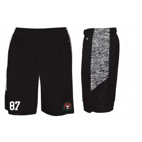 Humber Warhawks - Embroidered Blend Panel Pocketed Shorts