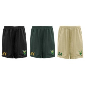 Bury Saints - Embroidered Mesh Shorts