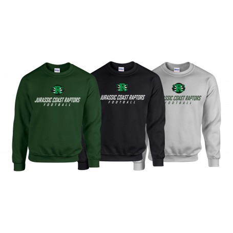 Jurassic Coast Raptors - Text Logo Sweatshirt