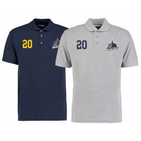 Portsmouth Dreadnoughts - Ship Embroidered Number Logo Polo Shirt