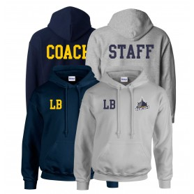 Portsmouth Dreadnoughts - Ship Embroidered Coach or Staff hoodie