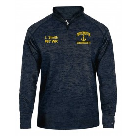 Ports Dreadnoughts - Anchor Customised Embroidered Tonal Blend Sport 1/4 Zip