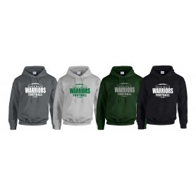 South Wales Warriors - Laces Logo Hoodie