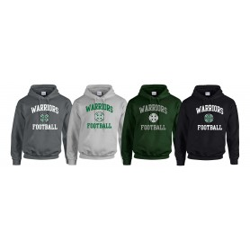 South Wales Warriors - Football Logo Hoodie