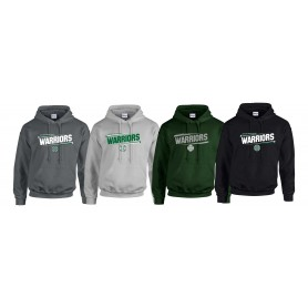 South Wales Warriors - Slanted Text Logo Hoodie