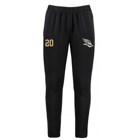 Clyde Valley Blackhawks - Embroidered Zipped Pocketed Slim Fit Track Trousers