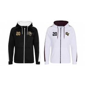 Clyde Valley Blackhawks - CV Embroidered Sports Performance Zip Hoodie