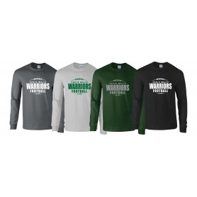 South Wales Warriors - Laces Logo Long Sleeve T Shirt