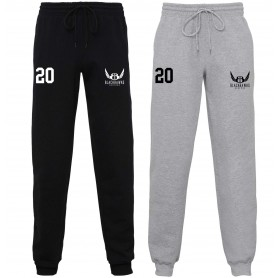 Bedford Blackhawks - Customised Embroidered Cuff Bottom Joggers