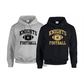 Rendsburg Knights - Custom Ball Logo Hoodie 1