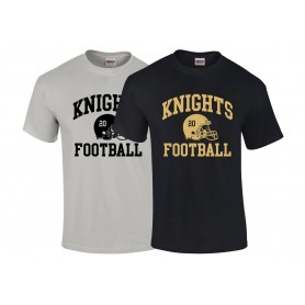 Rendsburg Knights - Custom Helmet T-Shirt