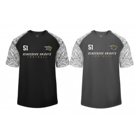 Rendsburg Knights - Printed Blend Performance Tee