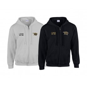 Rendsburg Knights - Customised Embroidered Zip Hoodie