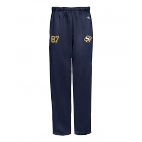 Oxford Saints - Embroidered Badger Open Bottom Joggers