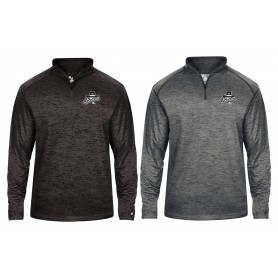 Wigan Bandits - Embroidered Tonal Blend Sport Quarter Zip