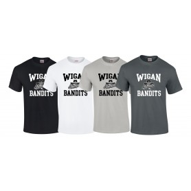 Wigan Bandits - Football Logo T-Shirt