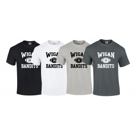 Wigan Bandits - Custom Ball Logo 1 T-Shirt
