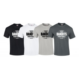 Wigan Bandits - Laces Logo T-Shirt