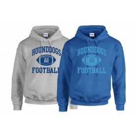 Hellingly Hound Dogs - Custom Ball Logo Hoodie 1