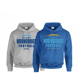 Hellingly Hound Dogs - Laces Logo Hoodie