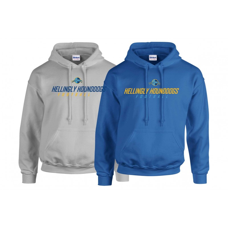 Hellingly Hound Dogs - Youth Text Logo Hoodie
