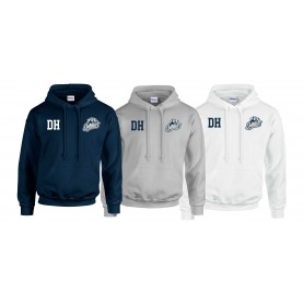 Cobham Cougars - Embroidered Initials Hoodie