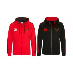 Kent Phoenix - Embroidered Sports Performance Zip Hoodie