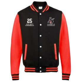 Keele Crusaders - Embroidered Varsity Jacket
