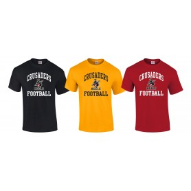 Keele Crusaders - Football Logo T-Shirt