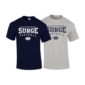 Staffordshire Surge - Custom Ball Logo 1 T-Shirt