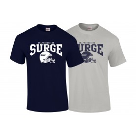 Staffordshire Surge - Custom Football Logo T-Shirt
