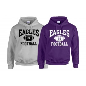 Ouse Valley Eagles - Custom Ball Logo 1 Hoodie