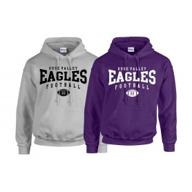 Ouse Valley Eagles - Custom Ball Logo 2 Hoodie