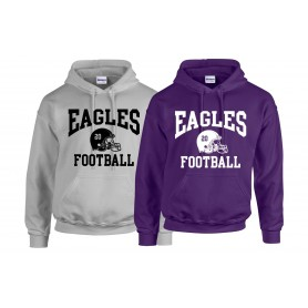 Ouse Valley Eagles - Custom Helmet Logo Hoodie