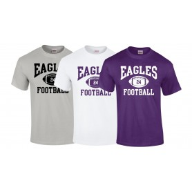 Ouse Valley Eagles - Custom Ball Logo 1 T-Shirt