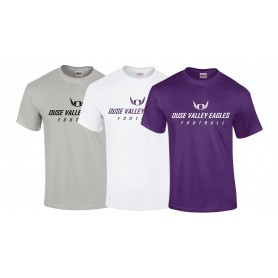 Ouse Valley Eagles - Text Logo T-Shirt