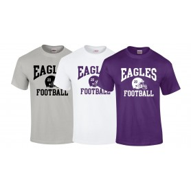 Ouse Valley Eagles - Custom Helmet Logo T-Shirt