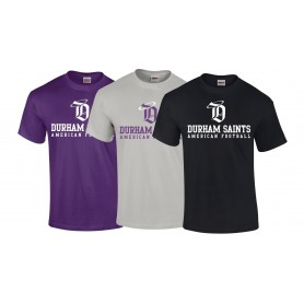 Durham Saints - Text Logo T-Shirt