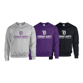 Durham Saints - Saints Text Logo Sweatshirt