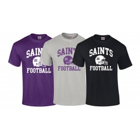 Durham Saints - Custom Helmet T-Shirt